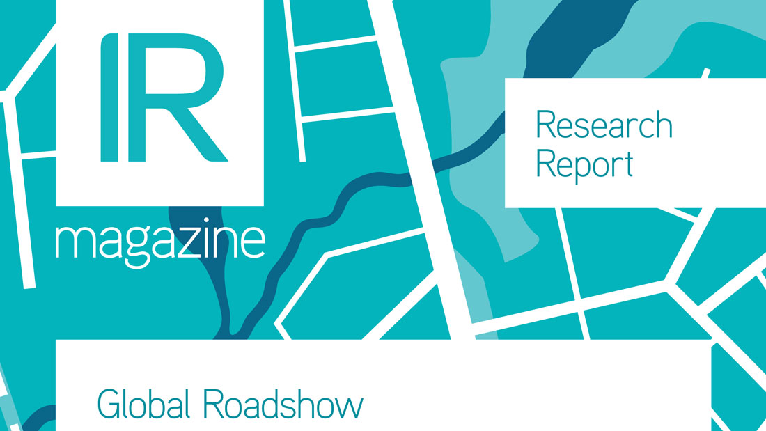 IR Magazine Global Roadshow Report 2016