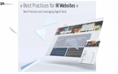 Best Practices For IR Websites and Leveraging Digital Tools
