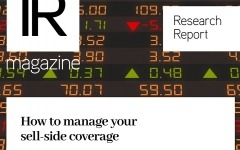Research report: How to manage your sell-side coverage