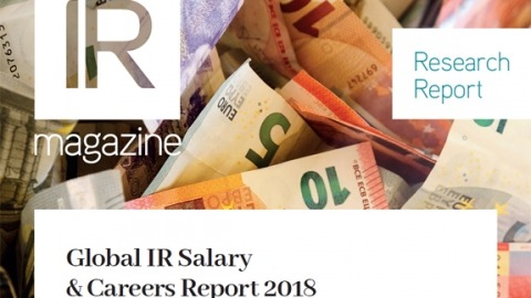 Global IR Salary & Careers report 2018