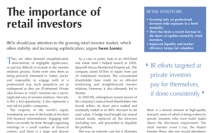 The importance of retail investors
