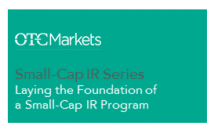 Laying the foundation of a small-cap IR program