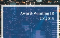 Award Winning IR - US 2018