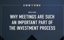 Why meetings are such an important part of the investment process